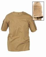 MIL-TEC Tactical T-Shirt coyote Combat Shirt...