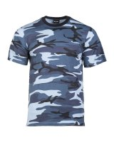 MIL-TEC Tarn T-Shirt  Army Shirt Tarn-Shirt blue camo...