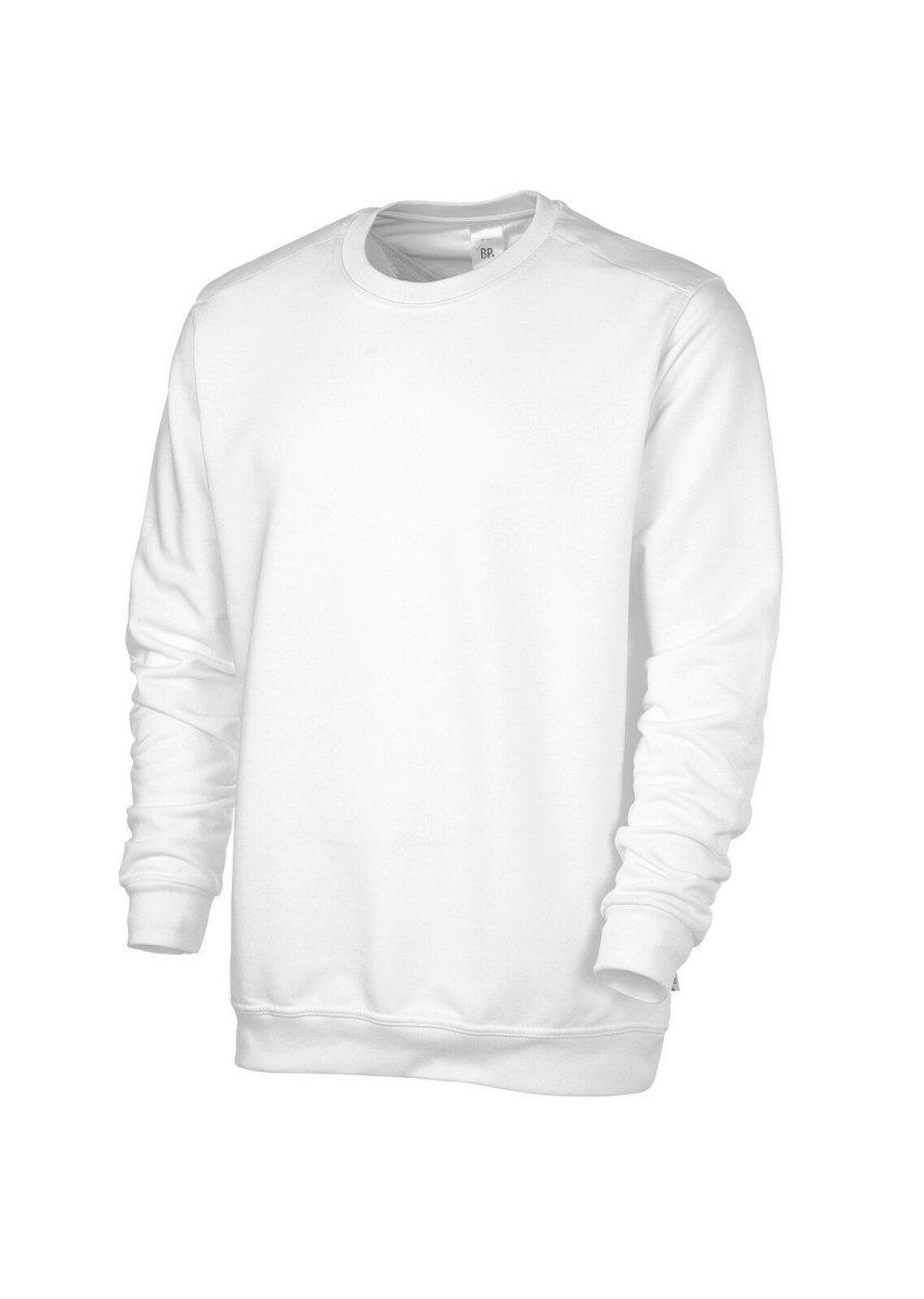 BP Workwear Sweatshirt  1623  Shirt für SIE & IHN  Pulli Sweater weiß  unisex S