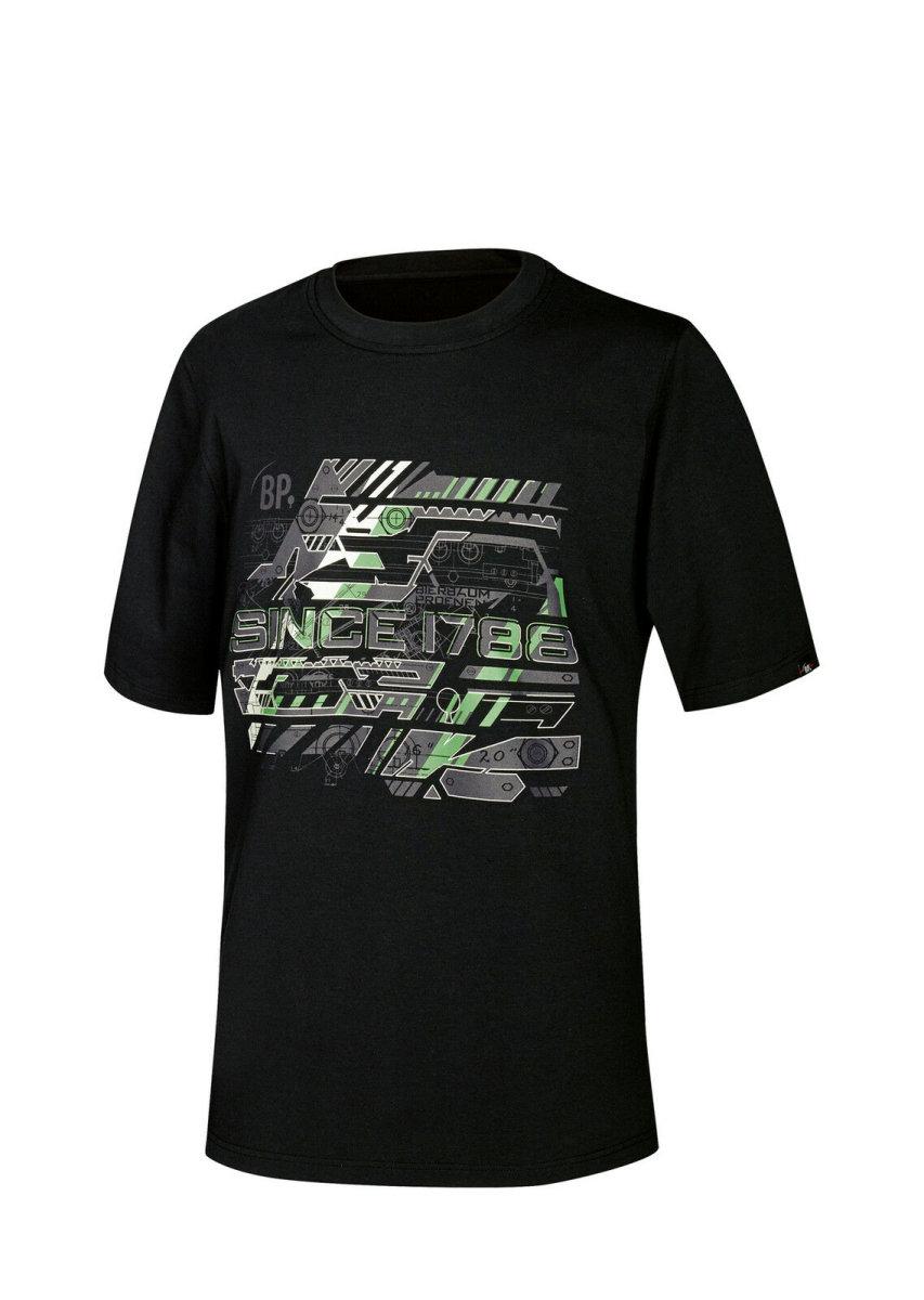 BP Workwear T-Shirt 1988 Herren Shirt schwarz  BP since 1788 Brand Logo T-Shirt  S