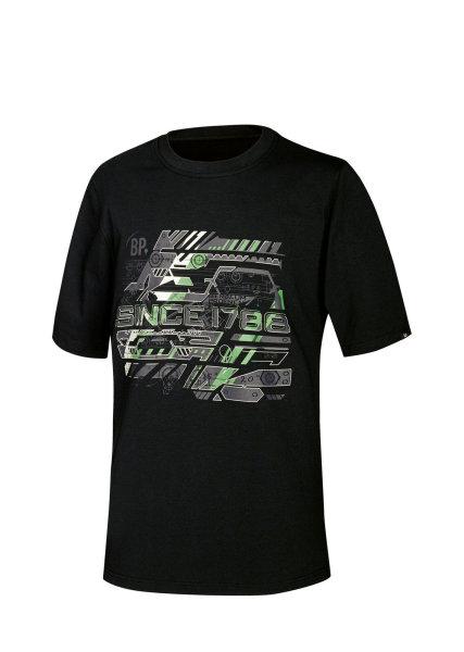BP Workwear T-Shirt 1988 Herren Shirt schwarz  BP since 1788 Brand Logo T-Shirt  M