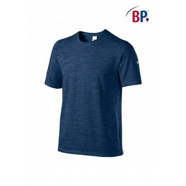 BP Workwear T-Shirt für Sie & Ihn 1714 space blau modern fit Shirt Stretch