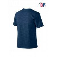 BP Workwear T-Shirt für Sie & Ihn 1714 space blau modern fit Shirt Stretch S
