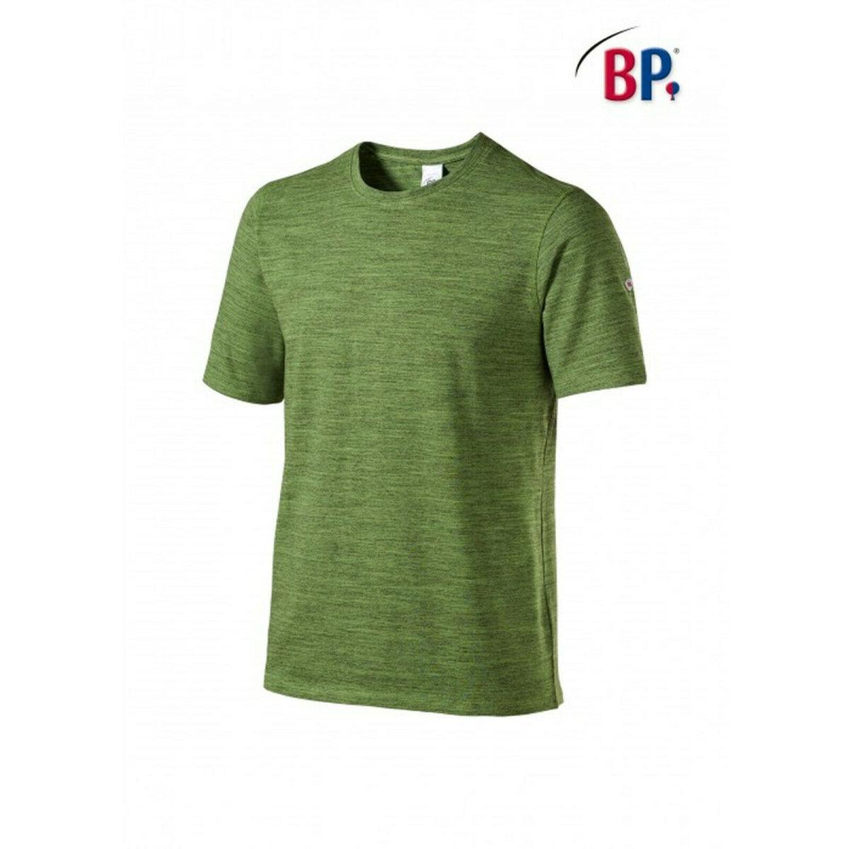 BP Workwear T-Shirt für Sie & Ihn 1714 space new green modern fit Shirt Stretch 2XL