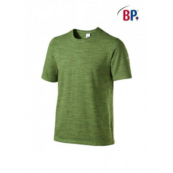 BP Workwear T-Shirt für Sie & Ihn 1714 space new green modern fit Shirt Stretch 2XL