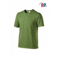 BP Workwear T-Shirt für Sie & Ihn 1714 space new green modern fit Shirt Stretch L