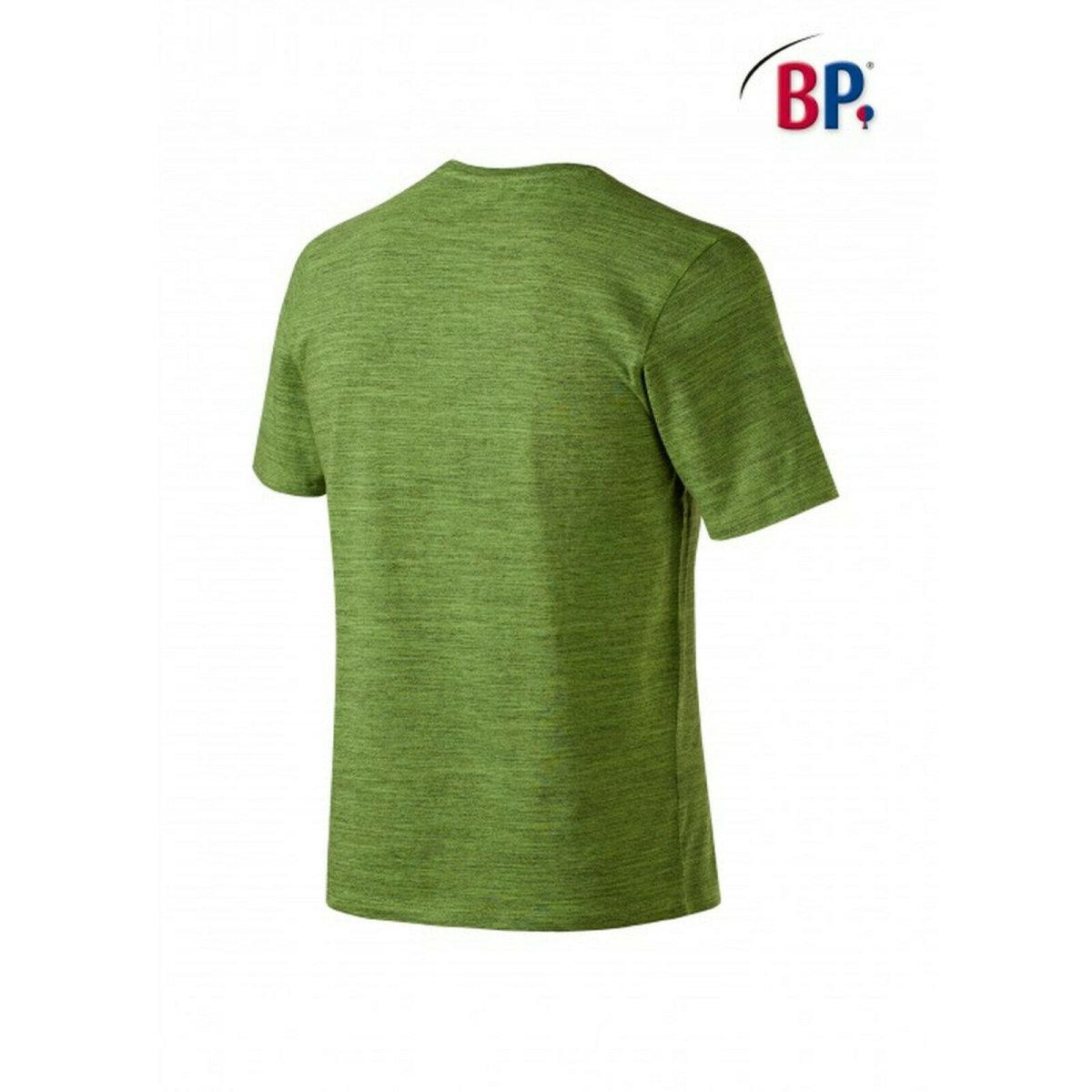 BP Workwear T-Shirt für Sie & Ihn 1714 space new green modern fit Shirt Stretch M