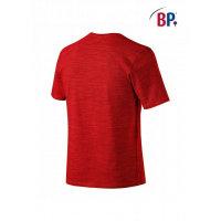 BP Workwear T-Shirt für Sie & Ihn 1714 space rot modern fit Shirt Stretch M