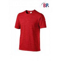 BP Workwear T-Shirt für Sie & Ihn 1714 space rot modern fit Shirt Stretch 2XL
