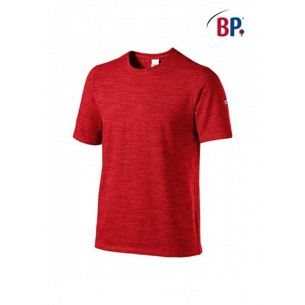 BP Workwear T-Shirt für Sie & Ihn 1714 space rot modern fit Shirt Stretch L
