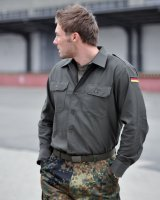 BW Bundeswehr Feldhemd Neuware Hemd oliv Jagdhemd...
