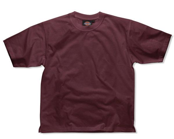 Dickies Basic T-Shirt SH34225 weinrot Workwear Baumwoll Shirt Worker Shirt