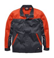 Dickies Everyday Bundjacke ED24/7 grau / orange...