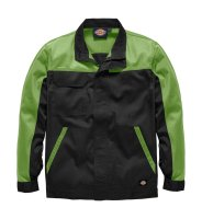 Dickies Everyday Bundjacke ED24/7 schwarz / limette...