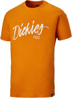 Dickies Hanston T-Shirt DT6012 orange Workwear Brand Logo...
