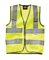 Dickies Hi-Vis Coat SA22007 gelb  Kinderweste Warnweste...