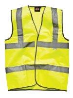 Dickies Hi-Vis Coat SA22010 yellow Warnweste Jagdweste...