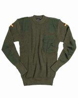 Bundeswehr Pullover BW Pullover 80/20 oliv Jagdpullover...