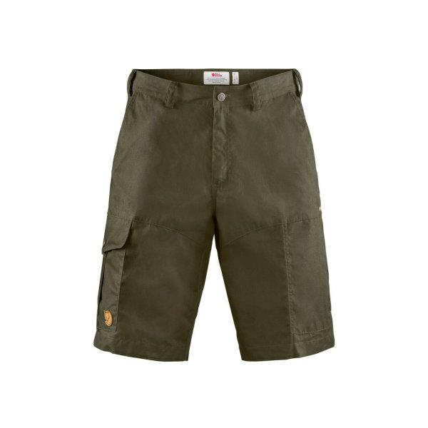Fjällräven Karl Pro Shorts 87224 dark oliv G-1000 Shorts Outdoor Trekking Hose