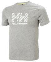 HH Helly Hansen Active T-Shirt 53428 grey melang Herren...