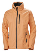 HH Helly Hansen Crew Hooded Jacke Women 33899 melon Damen...
