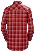 HH Helly Hansen Lokka LS Shirt Women 62875 plum plaid...