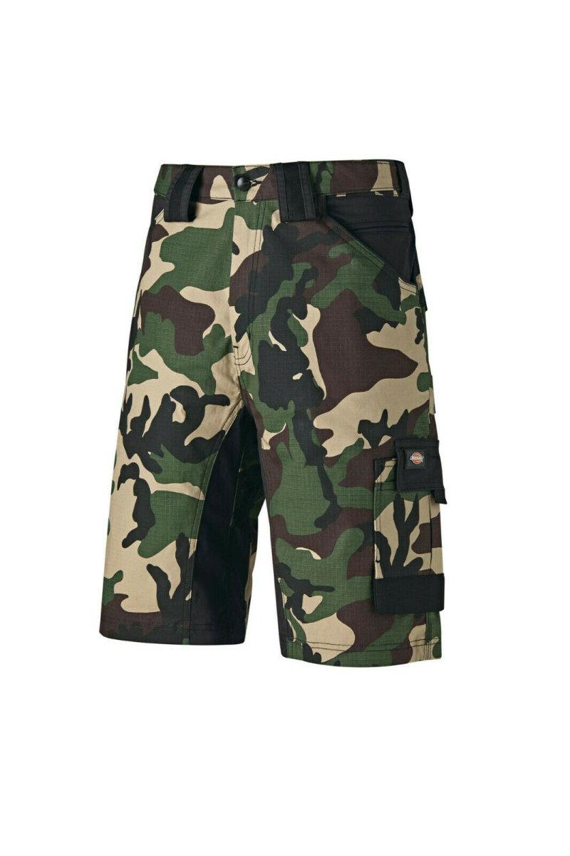 Dickies Flex GDT Premium Short WD4903 camouflage Arbeitshose Berufshose  Bermuda