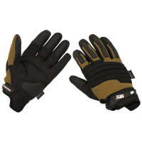 MFH Fingerhandschuhe OPERATION schwarz coyote Tactical...