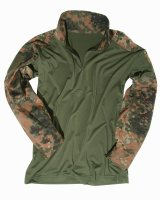 MIL-TEC  Feldhemd Tactical flecktarn Combat Shirt...