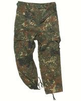 MIL-TEC BDU Hose Kids flecktarn Kinder Army Hose...