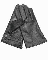 MIL-TEC BW Modell Lederfingerhandschuhe schwarz gef....