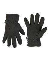 MIL-TEC Fingerhandschuhe Fleece Handschuhe schwarz...