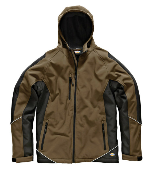 Dickies T/Tone Softshelljacke JW7010 khaki / schwarz Hoody Softshell Jacke
