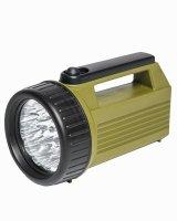 MIL-TEC Handscheinwerfer / 19 LED / 4D oliv Flashlight...