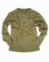 MIL-TEC Langarm Shirt  Army Shirt  oliv Cotton Shirt...