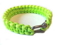 MIL-TEC Para Armband Metall-Schliesse grün BW -...