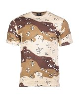 MIL-TEC Tarn T-Shirt  Army Shirt Tarn-Shirt 6-col.-desert...