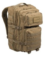 MIL-TEC US Assault Pack large coyote Rucksack 36l DayPack...
