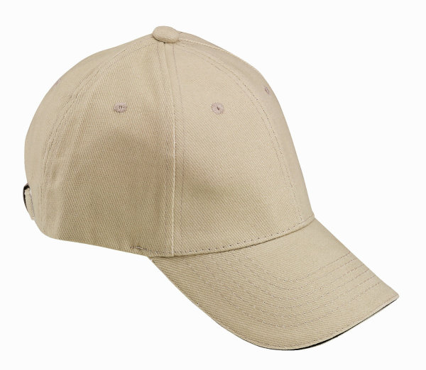 FHB  Cap unifarben 91190 UDO   Zunftkappe Worker Cap Kappe schwarz / beige