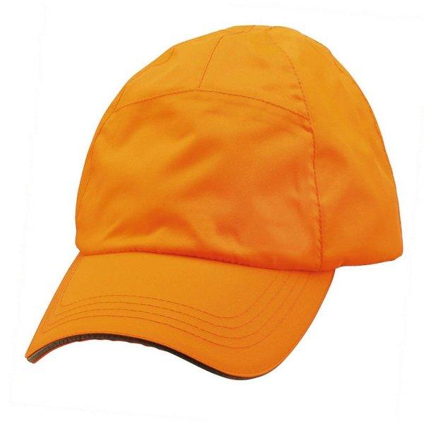 FHB Cap wasserdicht  91090 NIKLAS one size Worker Cap  schwarz / signalorange