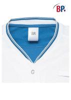 BP® Komfortkasack 1761 weiß/azurblau Kasack...