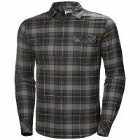 HH Helly Hansen Classic Check Shirt LS 62923 charcoal...