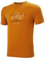 HH Helly Hansen Skog Graphic T-Shirt  62856 marmalade...