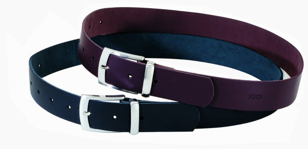 FHB Ledergürtel  85002 BURKHARD  Fb. braun Gürtel 40mm Hosengürtel leather belt 140cm