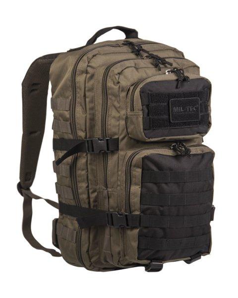 MIL-TEC US Assault Pack large ranger green / schwarz Rucksack 36l Tagesrucksack