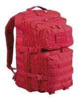 MIL-TEC US Assault Pack large signalrot Rucksack 36l...