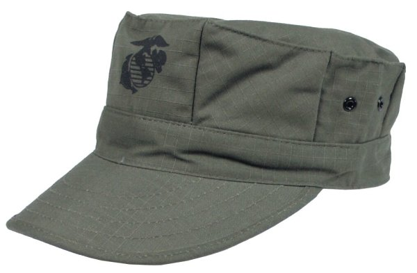 "MFH US Cap ""USMC"" ripstop  Army Fieldcap Cap Mütze Feldmütze US Marine Corps"