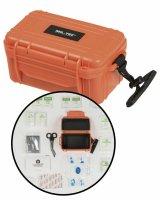 MIL-TEC First Kit waterproof orange Erste-Hilfe-Set...