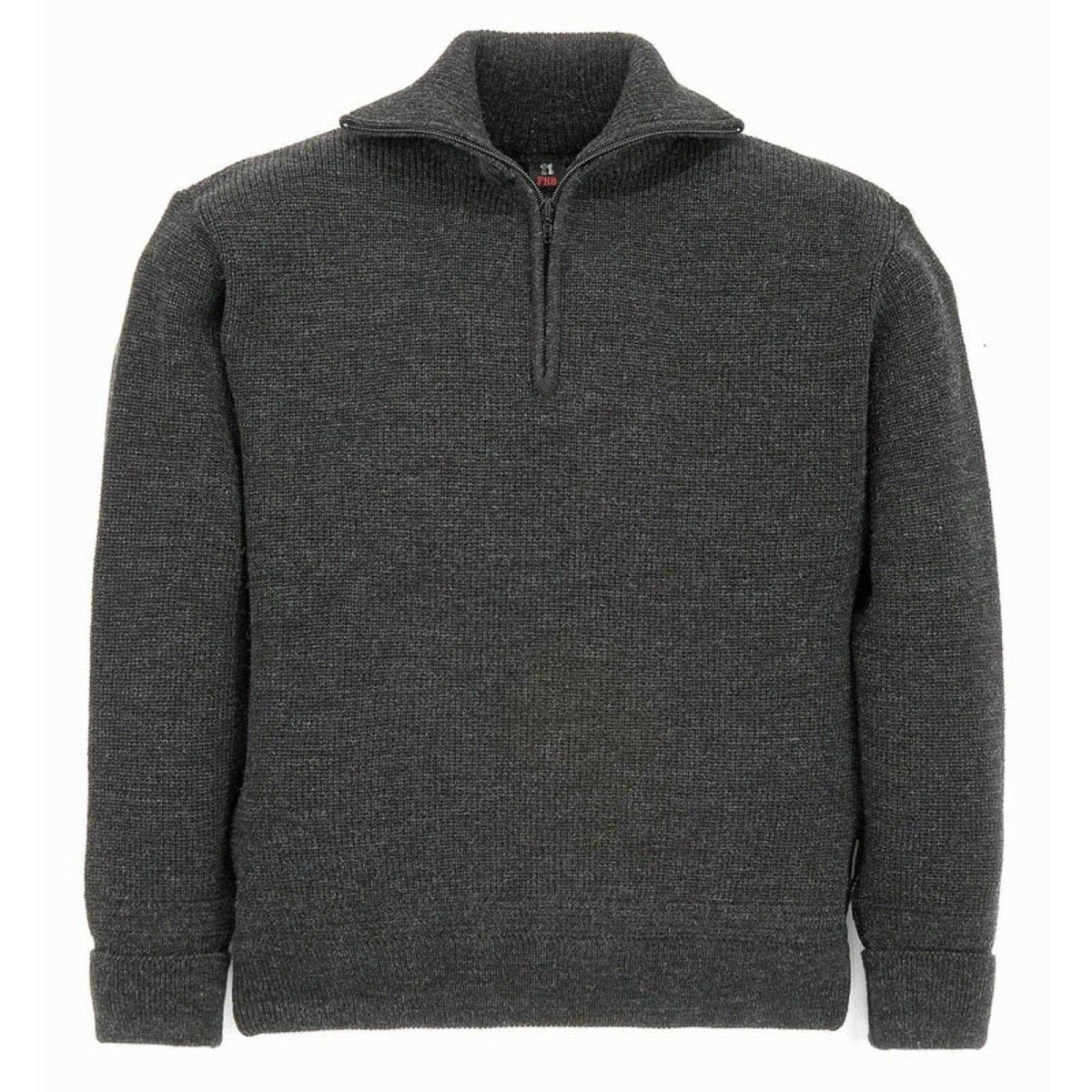 FHB Seemanns Pullover  34145 HINNERK  anthrazit Troyer Pullover Arbeitspullover XL