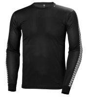 HH Helly Hansen LIFA Stripe Crew Shirt 48800 schwarz...